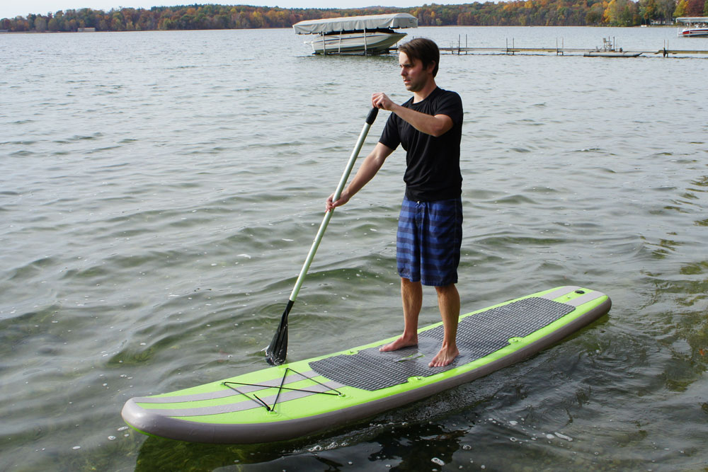Outdoor tuff quality products for making the most of for Inflatable fishing paddle board